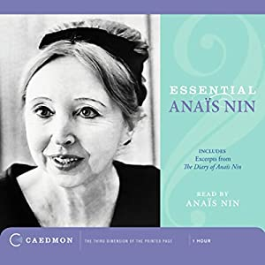 Essential Anais Nin Audiobook