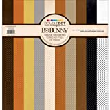Bo Bunny Double Dot Cardstock Collection Pack, 12 by 12-Inch, Natural Necessities offers