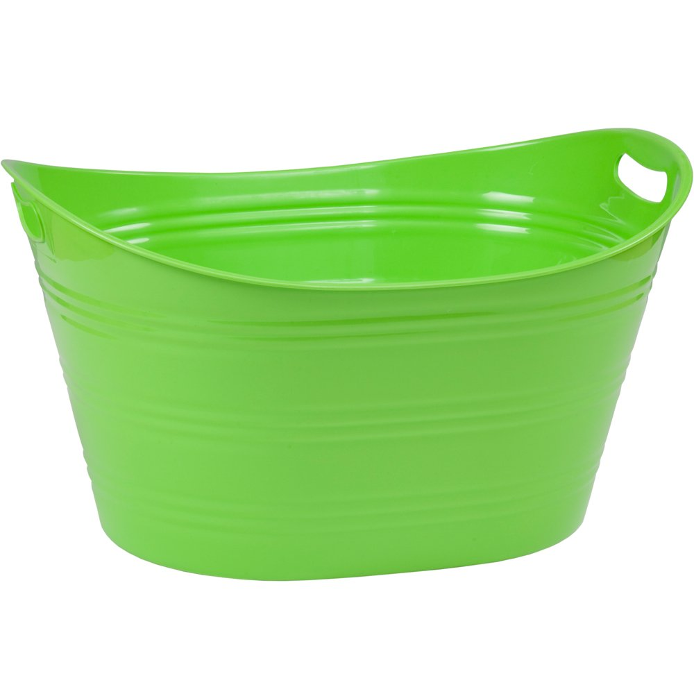 CreativeWare PTUB-LME 8.5 Gallon Party Tub, Lime