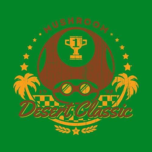 Kart Jacket Men's Classic Desert Kelly white Varsity Mushroom Mario qgwpZOBRgt