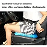 Gel Seat Cushion,1.65inch Double Thick Egg Seat
