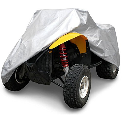 OxGord Solar-Tech Reflective ATV Cover - 100% Sun-Proof - Ready-Fit / Semi Custom - Fits up to 77 inches