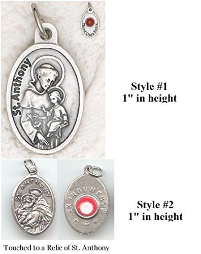 St. Anthony Relic Medal - Pack of 3 Anthony Medal Ring