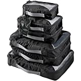 G4Free Packing Cubes 6pcs Set Travel Accessories Organizers Versatile Travel Packing Bags