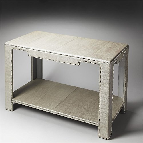 Butler Ricci Leather Console Table, 48