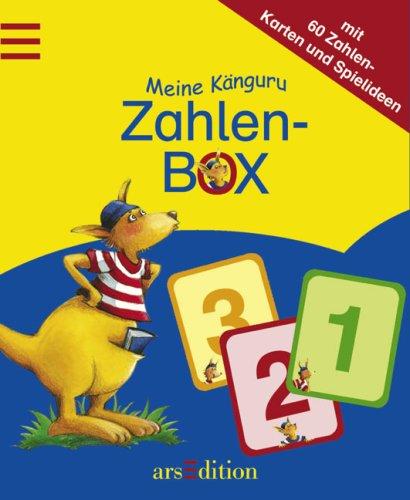 Meine Känguru Zahlen Box