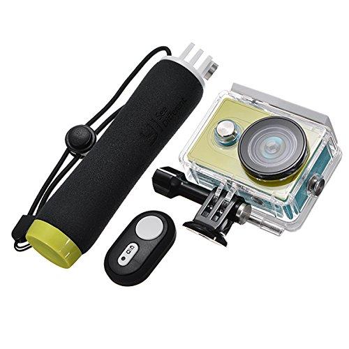 FeLiCia Ursprünglicher Wasserdichter Fall Blautooth-Fernsteuerungs-Sich Hin- und Herbewegender Handgriff Für Xiaomi Yi Sportscamera