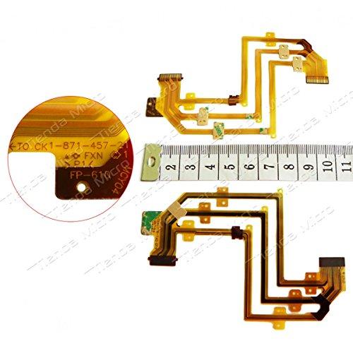 FP-610 LCD Flex Cable For SONY DCR-SR32 SR52 DCR-SR62 DCR-SR82 SR32E SR42E SR52E SR62E SR82E SR200E SR300E (Sony Dcr Sr82)