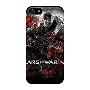 Protective Hard Phone Cover For Iphone 5/5s With Provide Private Custom Trendy Gears Of War Image PhilHolmes