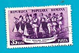 Romania (used postage stamp) 1953 Romanian Folk Art
