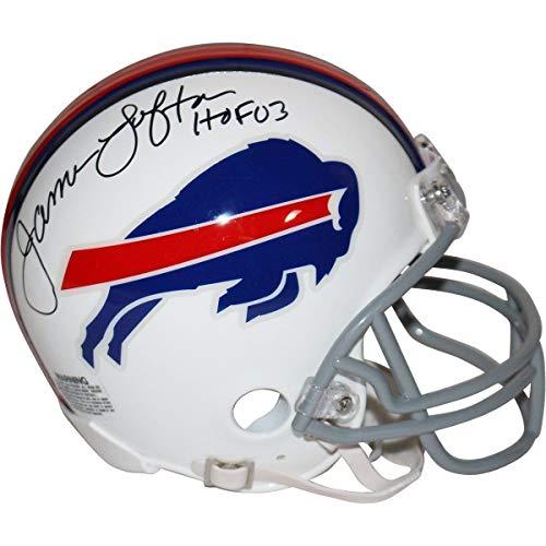 James Lofton Autographed Signed Buffalo Bills Mini Helmet HOF 03 Insc Steiner Sports ()