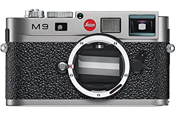 Amazon.com : Leica M9 18MP Digital Range Finder Camera (Steel Gray ...
