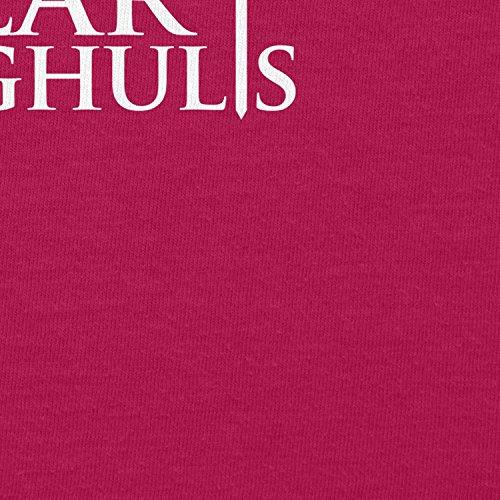 TEXLAB - GoT: Valar Morghulis - Damen Kapuzenpullover, Größe L, fuchsia