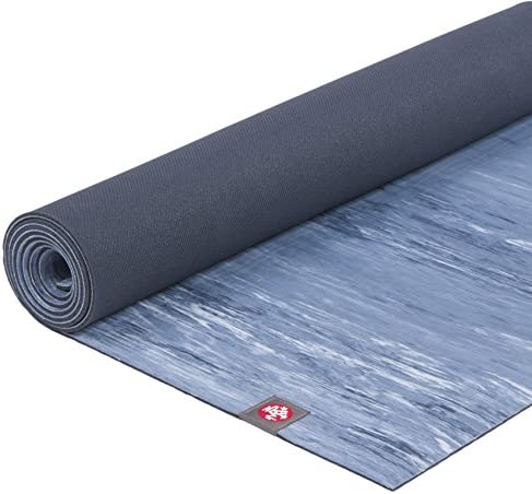 Manduka eKOlite Yoga Mat Premium 4mm Thick Mat, Eco Friendly and Made from Natural Tree Rubber. Ultimate Catch Grip for Superior Traction, Dense Cushioning for Support and Stability in Yoga, Pilates, and General Fitness.