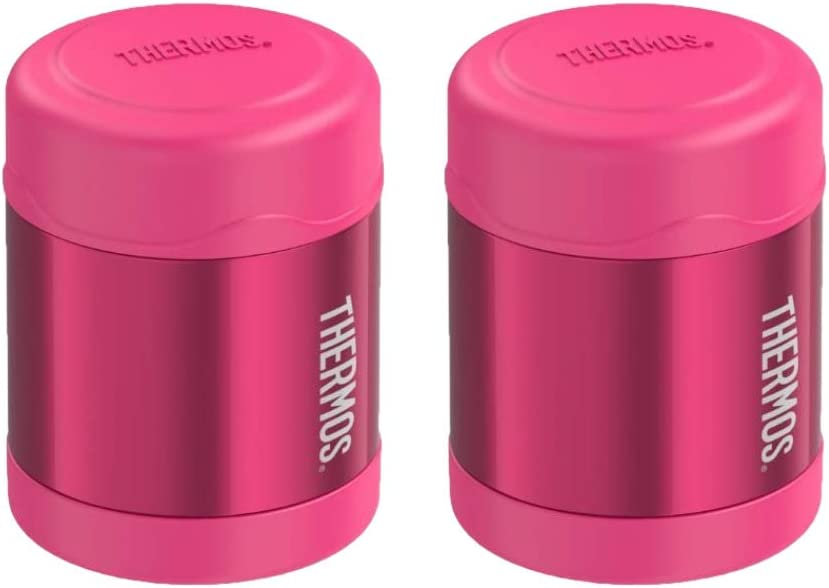 Thermos Funtainer Vacuum Insulated S/S 10 oz Food Jar Pink - 2PK Bundle