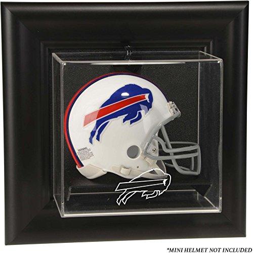 Buffalo Case Football Display (Mounted Memories Buffalo Bills Wall Mounted Mini Helmet Display Case - Buffalo Bills One Size)