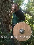 NauticalMart Renaissance Armor Medieval Round Viking Shield 25''
