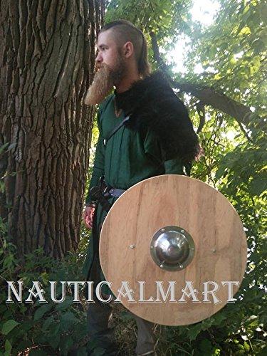 NauticalMart Renaissance Armor Medieval Round Viking Shield 25'' by NAUTICALMART