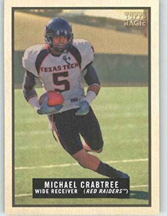 Michael Crabtree RC - Texas Tech - San Francisco 49ers (RC - Rookie Card) 29156ebdd
