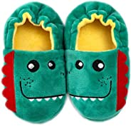 Efeng Baby Girl's Boys's Soft Plush Slippers Animal Warm Winter Booties Indoor House Shoes Lightweight