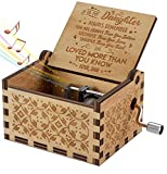 Engraved Music Box - You are My Sunshine, Gift for Daughter from Dad - You Are Stronger Than You Seem (O - Origin)