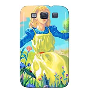 New Style Durable For Galaxy S3 Cover Case Brown HOe0Dy
