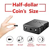 Mini Spy Hidden Camera,2018 ZTour HD 1080P Smallest Nanny Cam,Tiny Video Recorder Spying Night Vision Motion Detection,Indoor Outdoor Covert Security Camera Home Office,Cars