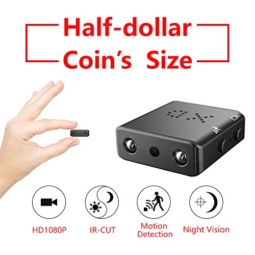 2018 ZTour HD1080P Hidden Spy Cameras,Small HD Camcorder,Nanny Camera,Car Security Camera,Mini DVR,Tiny and Compact,with Night Vision,Motion Detection for Home,Office,Car,House etc (Recorder Dvr A/v Camera)
