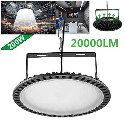200W Slim UFO LED High Bay Light Lamp Factory Warehouse