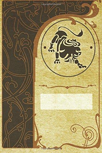 Monogram Leo Notebook: Blank Journal Diary Log (Monogram NouveauTwo 150 Lined) (Volume 74) ebook