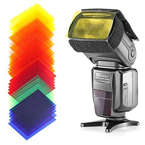 Neewer® NW-985N i-TTL 4-Color TFT Screen Display *High-Speed Sync* Camera Slave Flash Speedlite Kit for Nikon D3S D50 D60 D70 D70S D80 D80S D200 D300 D300S D700 D3000 D3100 D5000 D5100 D7000 and All Other Nikon DSLR Cameras,Include:(1)NW-985N+(1)Universa