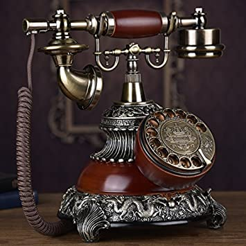 Telephony Teléfono De Antigüedades Europeas, Gama Alta Retro ...