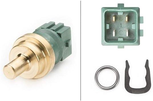 HELLA 6PT 009 107-221 Sensor temperatura del refrigerante N/úmero de conexiones 1