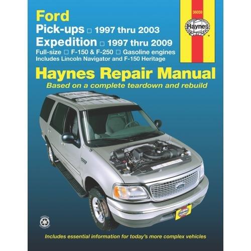 Haynes Repair Manual: Ford Pick-ups & Expedition 1997 thru 1999 (Haynes)
