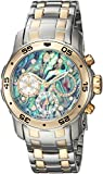 Invicta Women's 'Pro Diver' Quartz Stainless Steel Casual Watch - Color:Silver-Toned (Model: 24833)