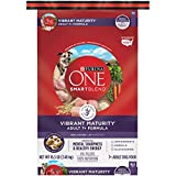 Purina ONE SmartBlend Vibrant Maturity Adult 7+ Formula Dry Dog Food - 16.5 lb. Bag