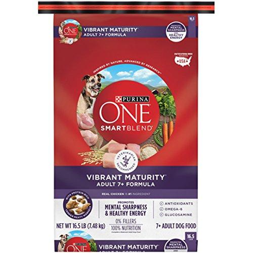 Purina ONE SmartBlend Vibrant Maturity Adult 7+ Formula Dry