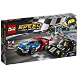Lego 2016 Ford GT and 1966 Ford GT40, Multi Color