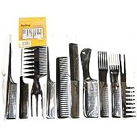 Alincas Magic 10 Piece Professional Styling Comb Set