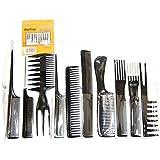 Sungpunet 10 Piece Professional Styling Comb Set
