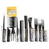 Amazon Price History for:Magic 10 Piece Professional Styling Comb Set
