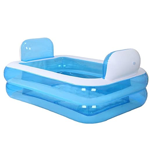 Bañera hinchable plegable inflable más gruesa para adultos y ...