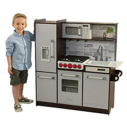 Amazon Com Ultimate Elite Play Kitchen With Ez Kraft Assembly Toys