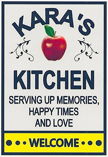 Amazon Com Kara S Kitchen Apple Welcome Refrigerator
