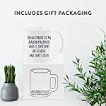 Andaz Press Funny Dog 11oz. Coffee Mug Gag Gift, Proud Parent of an Alaskan Malamute Who is Sometimes an Asshole and That's Okay, 1-Pack, Mom Dad Dog Lover's Christmas Birthday Ideas, with Gift Box 8