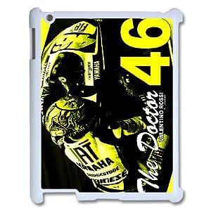 Valentino Rossi theme pattern design For IPad 2,3,4 Phone Case