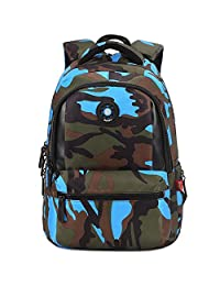 Comfysail Primary School Nylon Backpack - Ideal for 1-6 Grade School Students Boys Girls Daily Use and Outdoor Activities