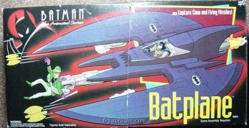 Batman the Animated Series Batplane by Kenner