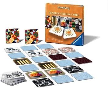 Ravensburger 26518 Memory Charles Eames - Juego de Mesa de Memoria [Importado de Alemania]: Amazon.es: Juguetes y juegos
