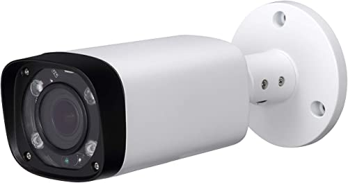 4MP HD Security POE IP Camera IPC-HFW4431R-Z, 2.7-12mm Motorized Varifocal Lens 4X Optical Zoom, All-Metal Bullet Camera Smart H.265, 262ft Smart IR Night Vision, WDR DNR, IP67,ONVIF